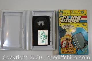 G.I. JOE A REAL AMERICAN HERO VOLUME 2 VHS