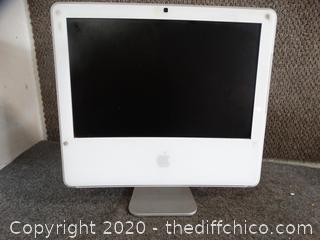 I-MAC Computer no cord untested no known info