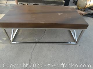 "Coffee Table 44"" x 26"" x 16.5"""