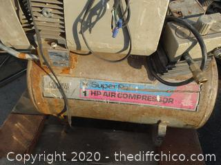 Air Compressor Unknown info