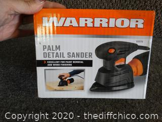 Warrior Palm Sander NIB
