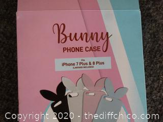 Bunny Phone Case i phone 7 & 8 Plus