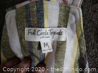 NWT Full Circle Overals med