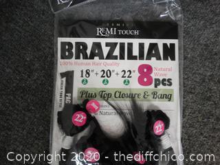 Brazilian Hair Pieces NEW