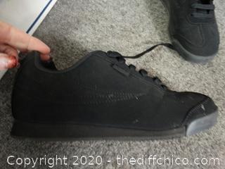 Black Fila Shoes 7.5