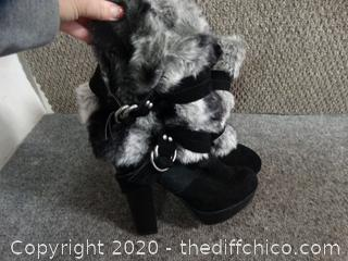Fur Boots 7.5