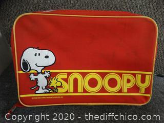 "Snoopy Suitcase  20""x 13"" x 4"""