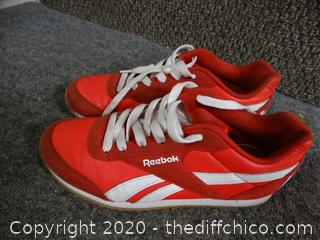 Red Reebok Shoes 5