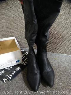 Black Cow girl Boots 7.5