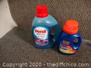Laundry Soap & Color Safe Bleach