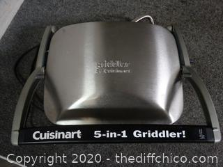 Cuisinart 5 in 1 Griddle Works