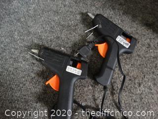 2 Glue GUNS