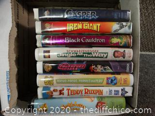 VHS Lot
