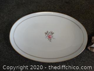 Noritake China platter
