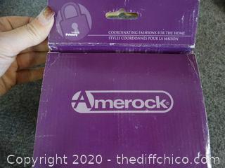 Amerock ensembles door knob NIB