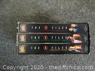 X files VHS