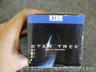Star Trek Glass Kirk