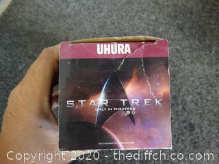 Star Trek Glass Uhura