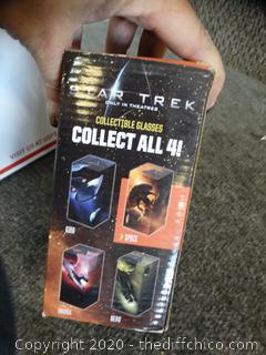 Star Trek Glass Spock