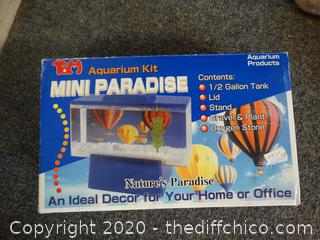 Mini paradise aquarium kit