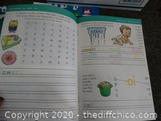 Grade 1 Phonics Language Work books