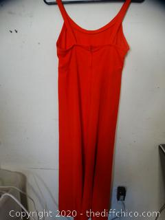 Red dress Unknown size (8-10)?