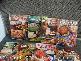 Taste at home cookbooks