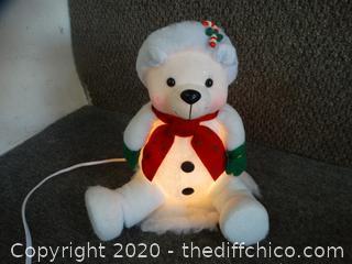 Light Up Christmas Bear