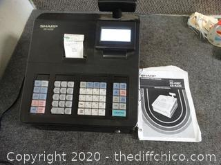 Working Cash Register with Book
