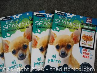 Early Spanish Books Grade 1-3