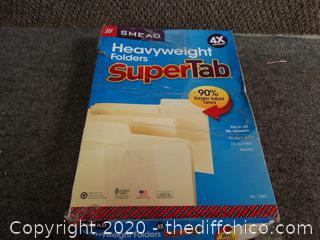 Super Tab Folders