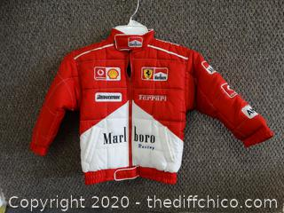 Kids Marlboro  Ferrari Racing Jacket