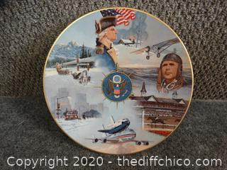 1977 Annual US Historical Plate # 909 / 10,000