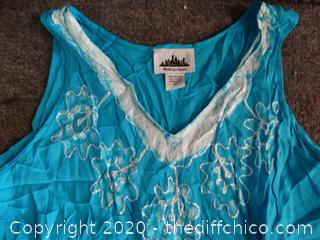 2XL Blue Dress