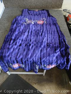 XL Purple Dress
