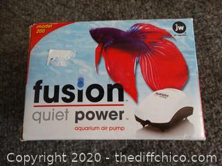 Fusion Quiet Power Air Pump