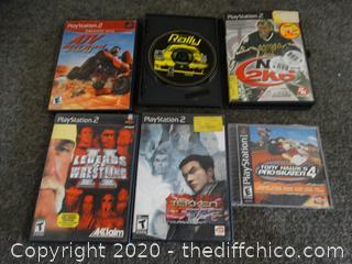 PS/ PS2 Games