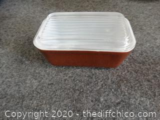 Pyrex Dish With Lid