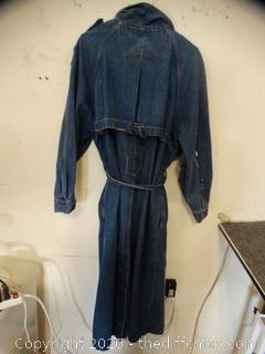 Size 16 Long Jean Jacket