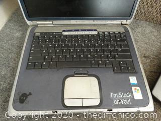 2 Laptops Unknowm Info