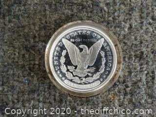 1983 Morgan Coin Copy #AU1590
