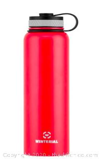 Winterial 40oz Stainless Steel Water Bottle - Red (J6)