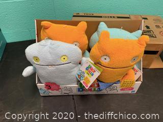 Ugly Dolls Plush Toys - Set of 4 (J15)