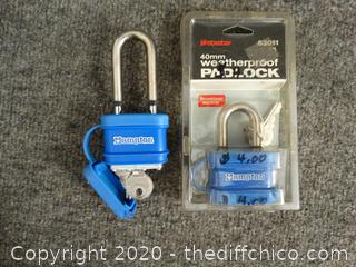 2 Locks With Keys