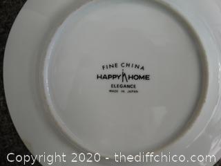 Fine China Happy Home