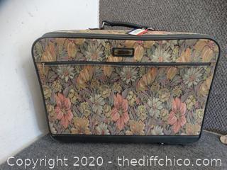"American Tourist Suitcase 17.5"" X 26"" X 7.5"""