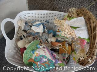 Basket Of Easter Stuff