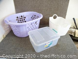 Laundry Baskets & Totes