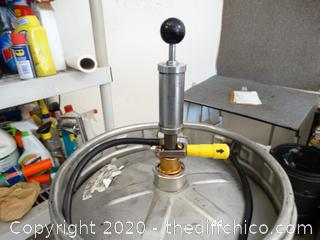 Keg With Tap