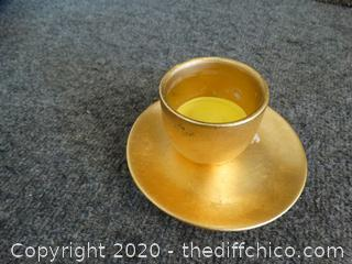 Tag Cup & Saucer